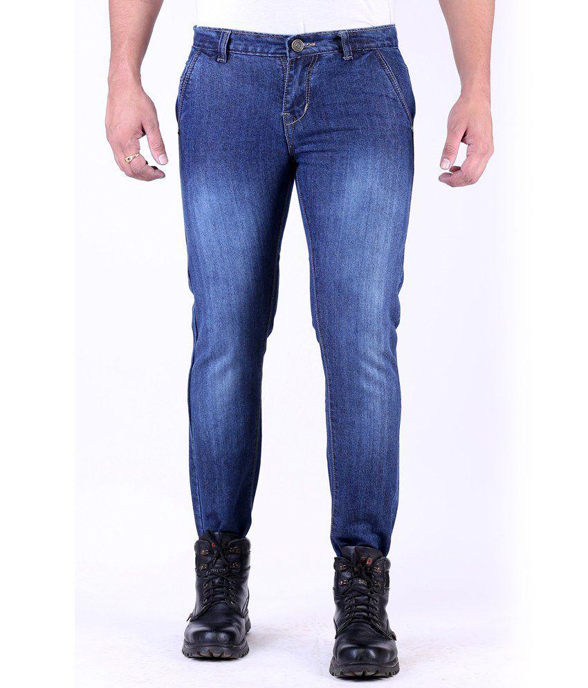 Haltung Streachable Blue Men Denim Jeans