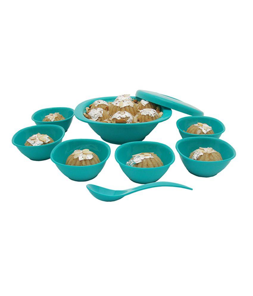 Incrizma Turquoise Green Others Pudding Set (9 Pcs)