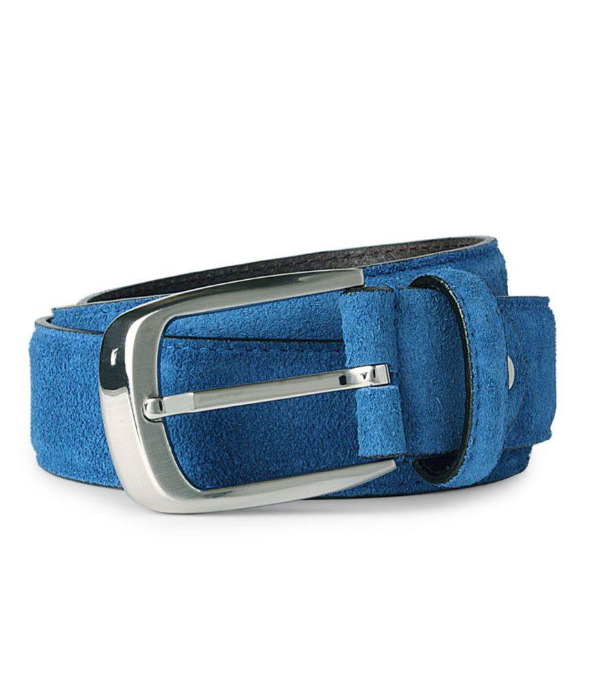 Van Heusen Blue Casual Single Belt For Men