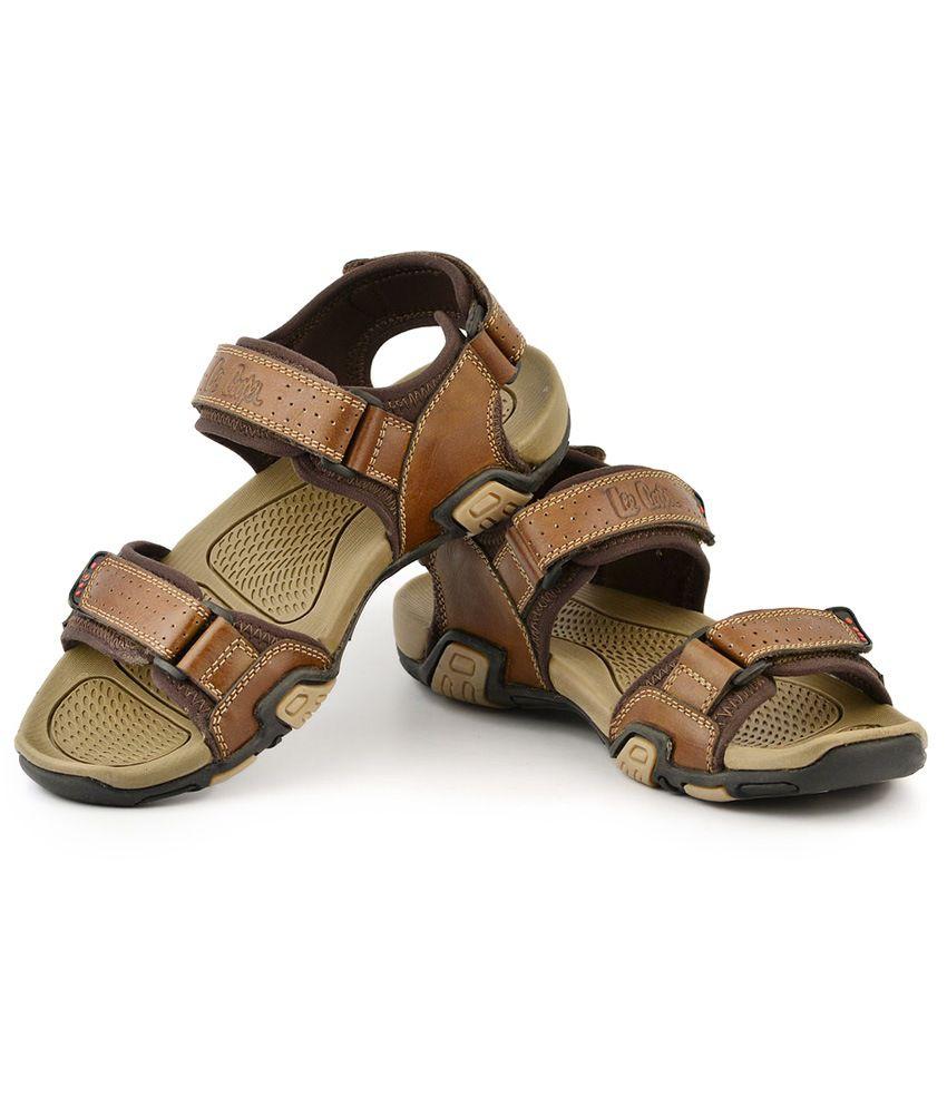 India Lee Cooper Price Sandals Buy Brown In wPX8n0Ok