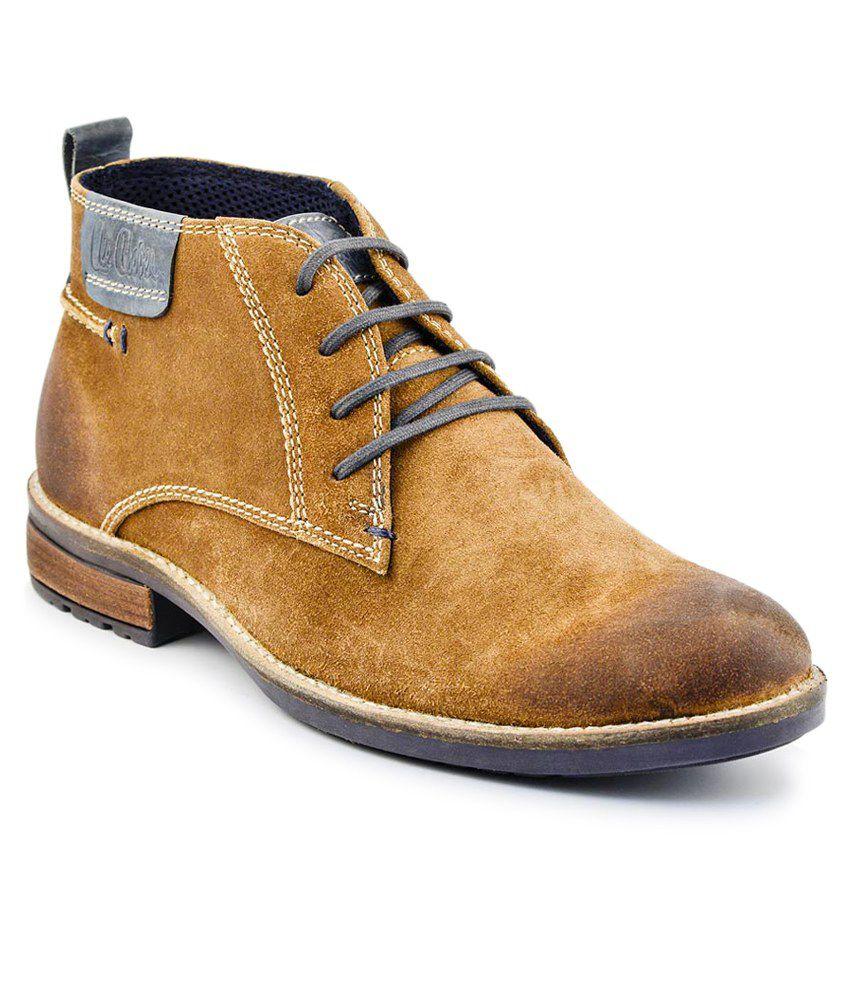 Lee Cooper Tan Boots