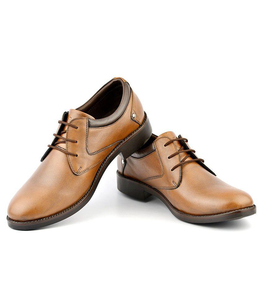 e012f0cc3c Lee Cooper Tan Formal Shoes Price in India- Buy Lee Cooper Tan ...
