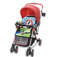 Sunbaby Attractive Brave Heart Red Lion Stroller