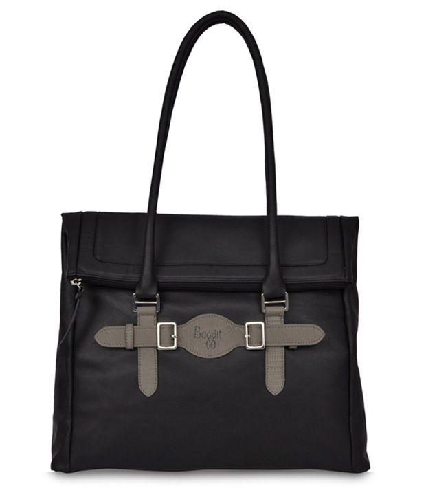 c11dee16660 Baggit 2177920450500 Black Shoulder Bags - Buy Baggit 2177920450500 Black  Shoulder Bags Online at Best Prices in India on Snapdeal