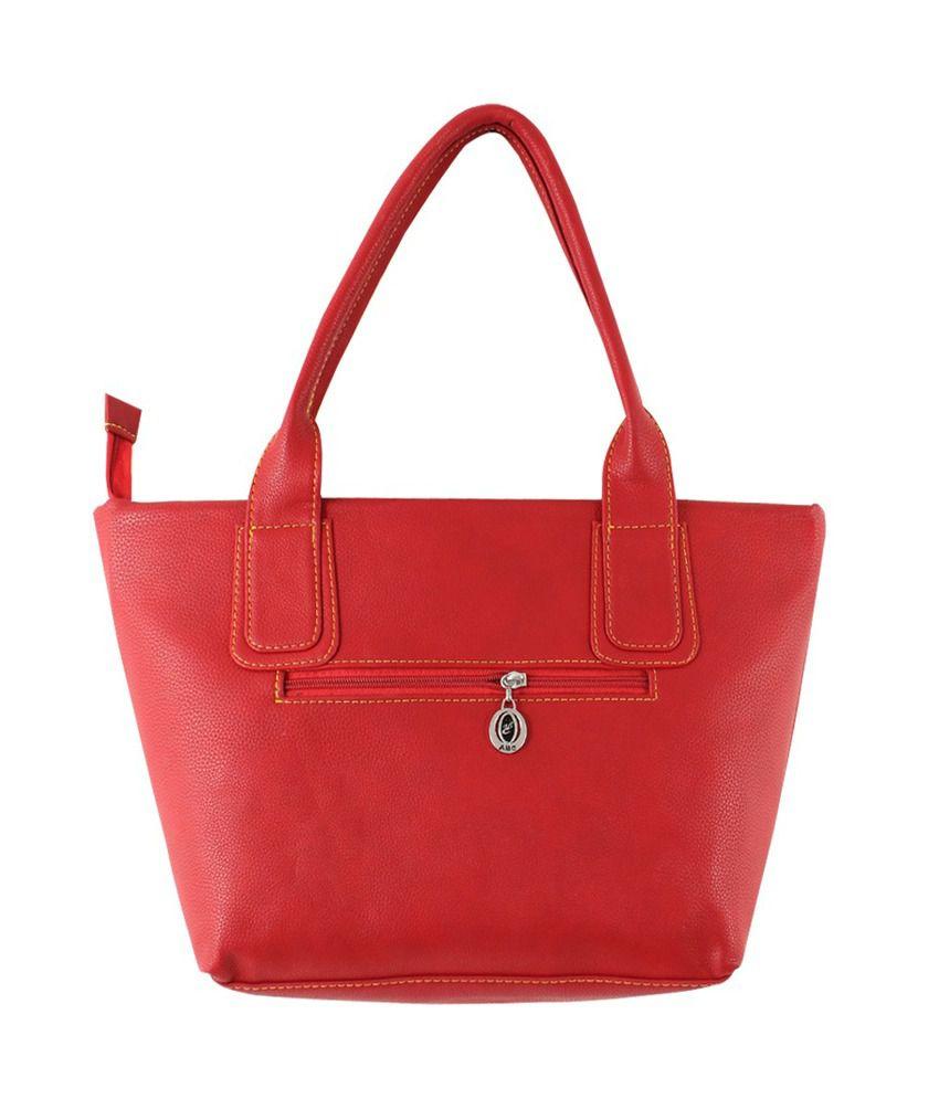 J Blues Red Women Handbag