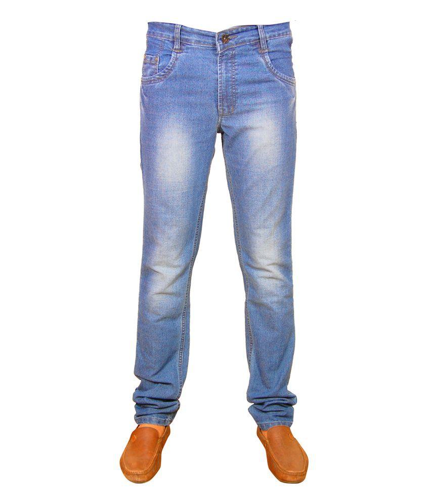 Navigo Blue Denim Cotton Men's Jean