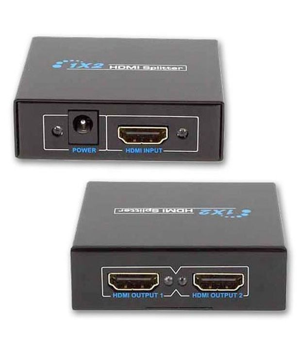 Ad-Net Hdmi Splitter 1 Input 2 Output 1 X 2 Mini 1 4V 1080P