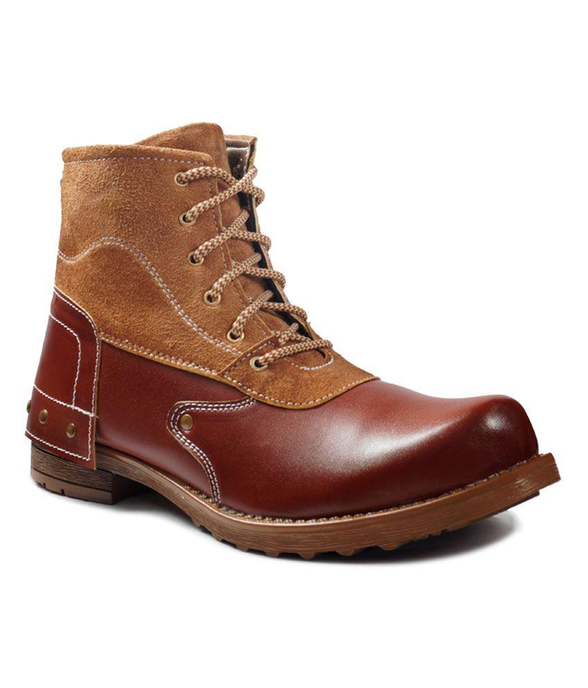 ADYBird Brown Attractive Boot