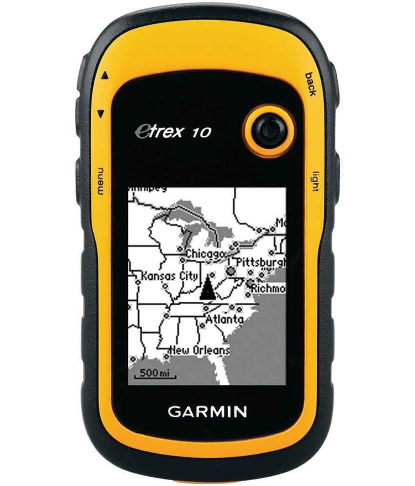 Garmin - eTrex-10 Handheld GPS for In-Car Tracking Use