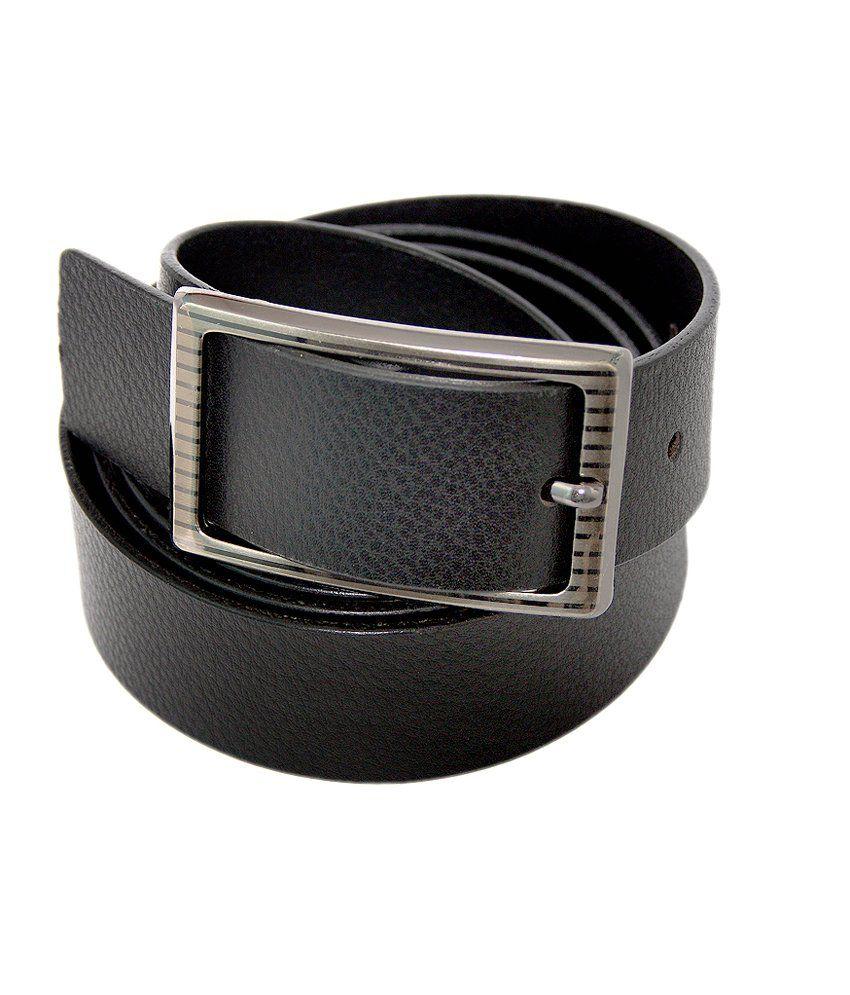 Lee Italian Simple Rough Look Genuine Leather Belt For Men