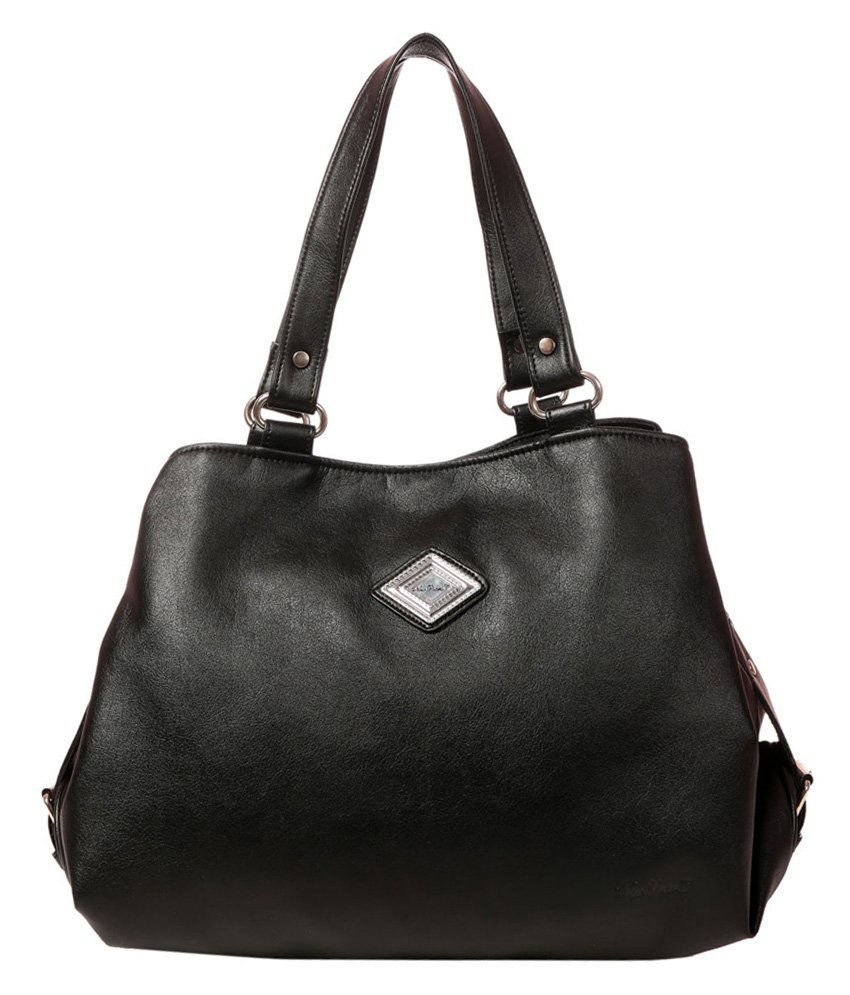 ccf212b7ed3 New Pearls Classic Black Women Handbags - Buy New Pearls Classic Black  Women Handbags Online at Best Prices in India on Snapdeal