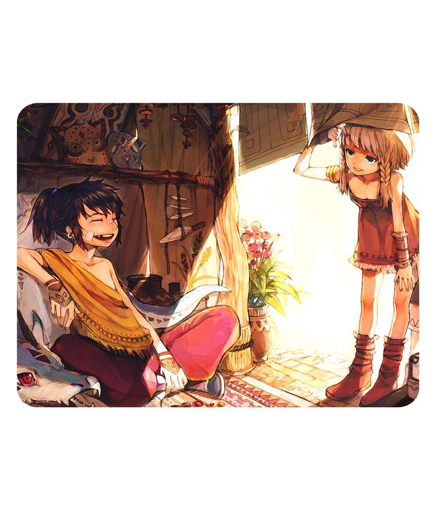 Shopkeeda Anime Friends Boy And Girl Mouse Pad