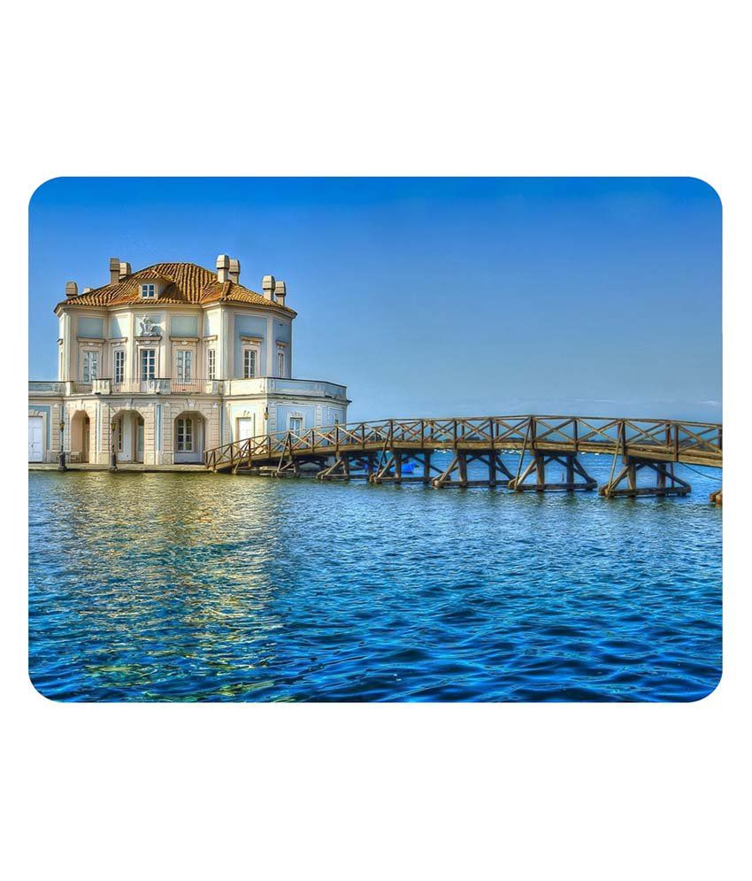 Shopkeeda Beautiful House In Sea Mouse Pad
