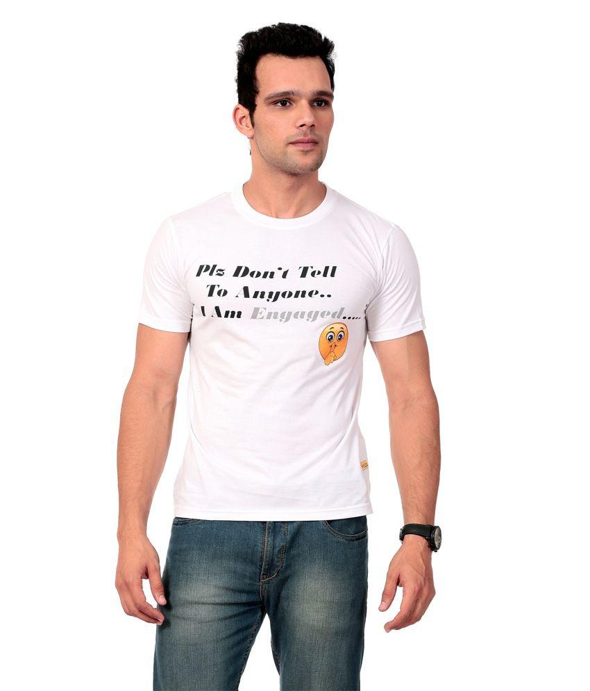 Texco White T-shirt For Men