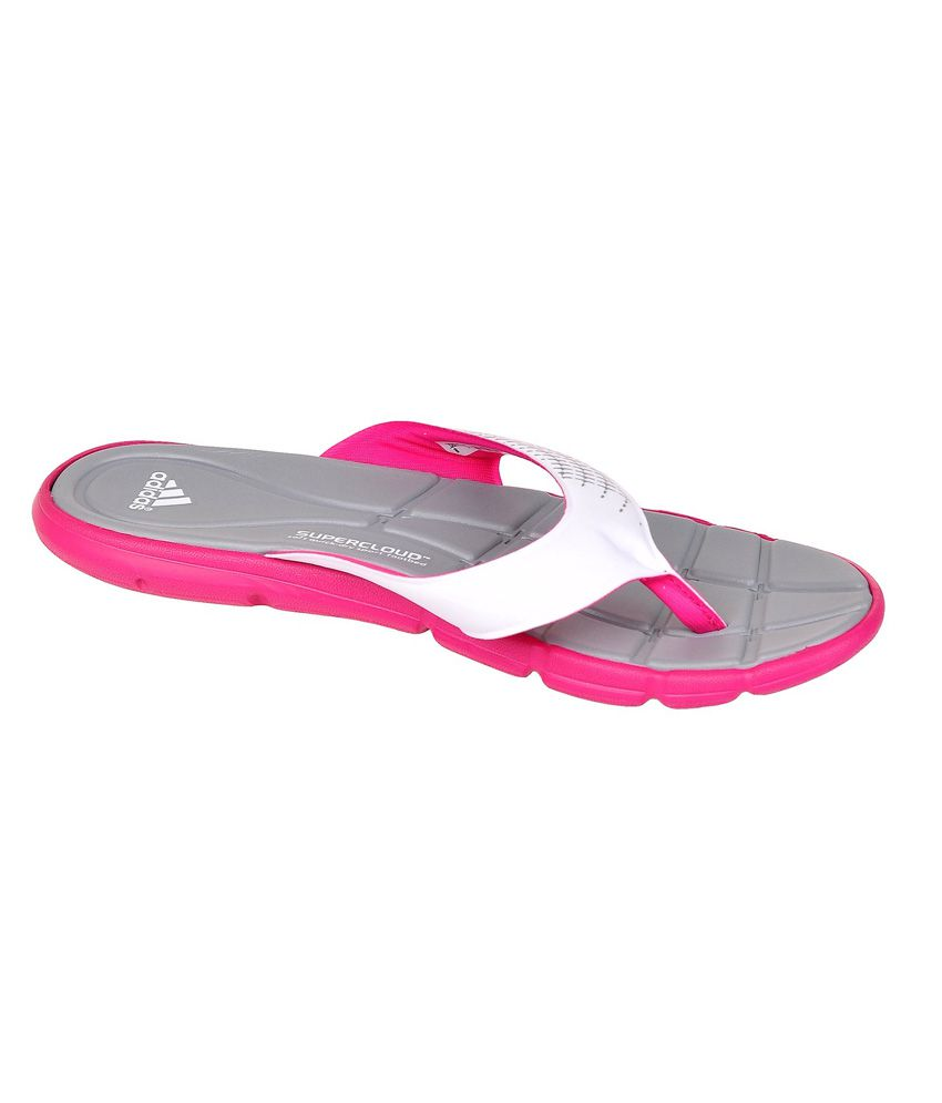 f0fcf59a765bf0 Adidas Adipure 360 Thong Gray And Pink Flip Flop Price in India- Buy Adidas  Adipure 360 Thong Gray And Pink Flip Flop Online at Snapdeal