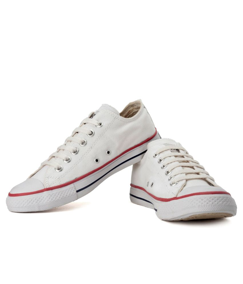 Converse White Canvas Shoes - Buy Converse White Canvas Shoes Online at Best  Prices in India on Snapdeal 1377bc07b