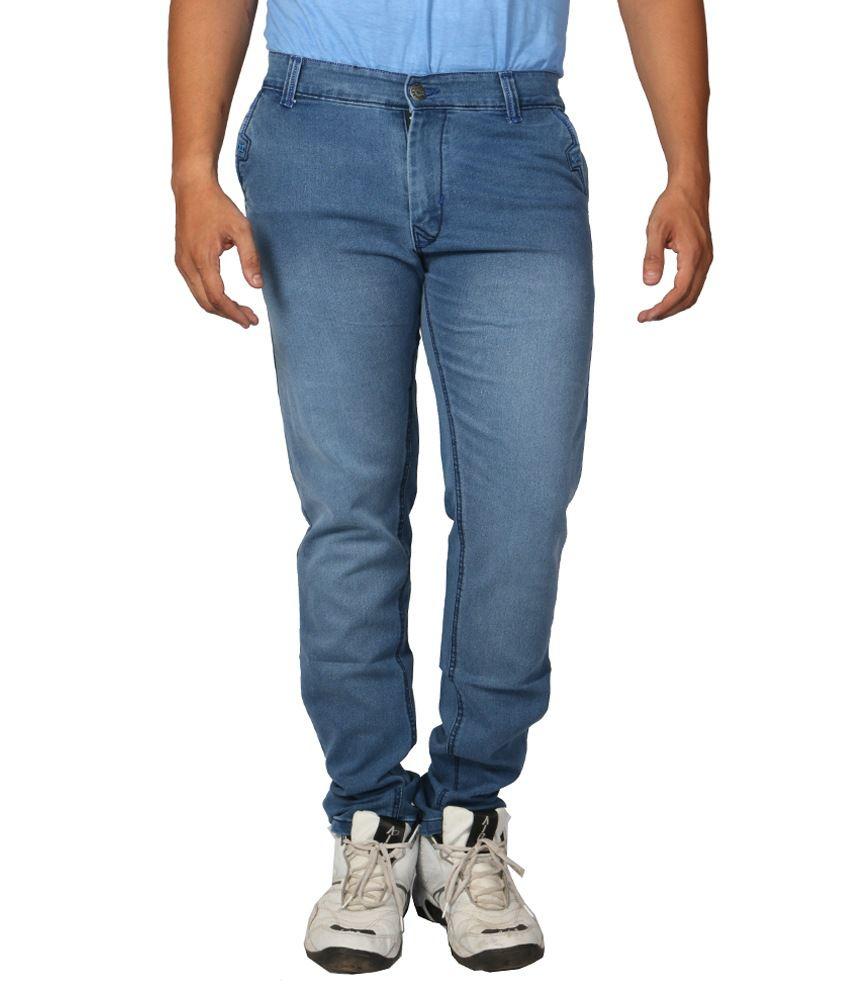 Hyper Blue Regular Full Size Men Jeans
