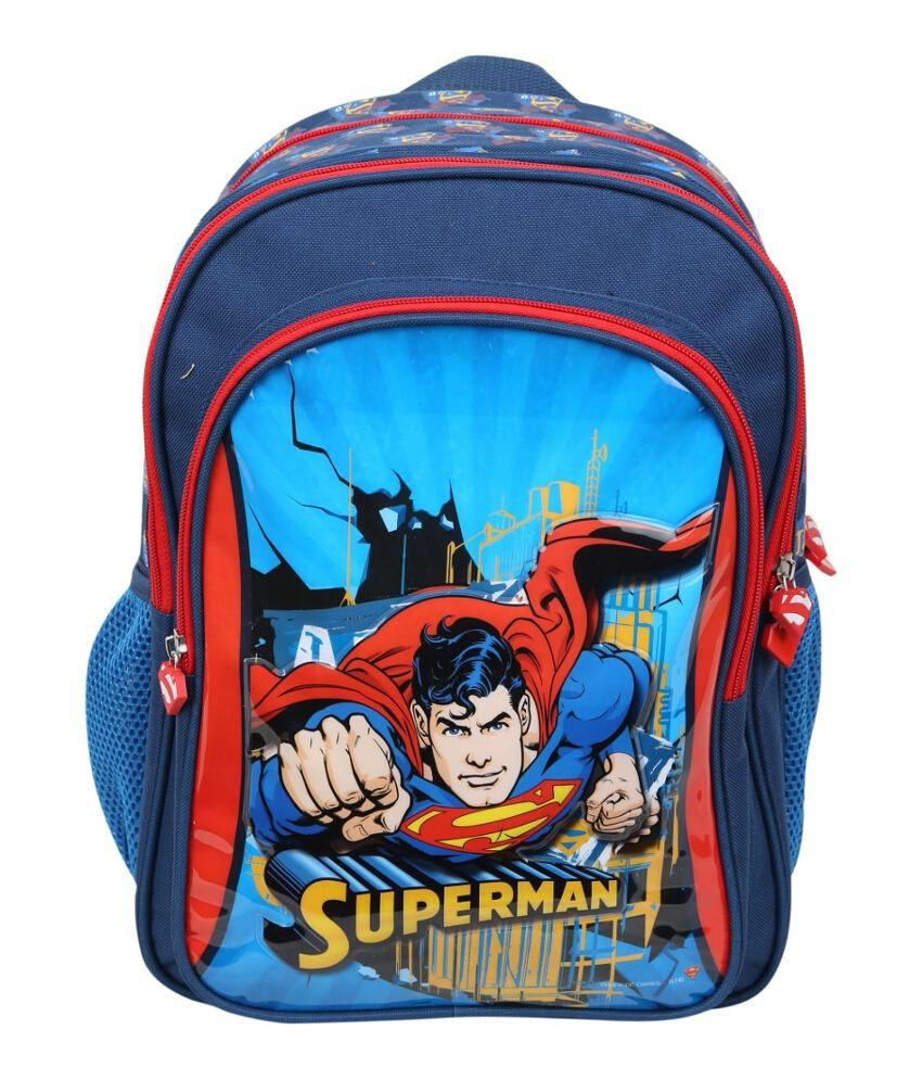 Superman Superman Multicolor Kids School Bag
