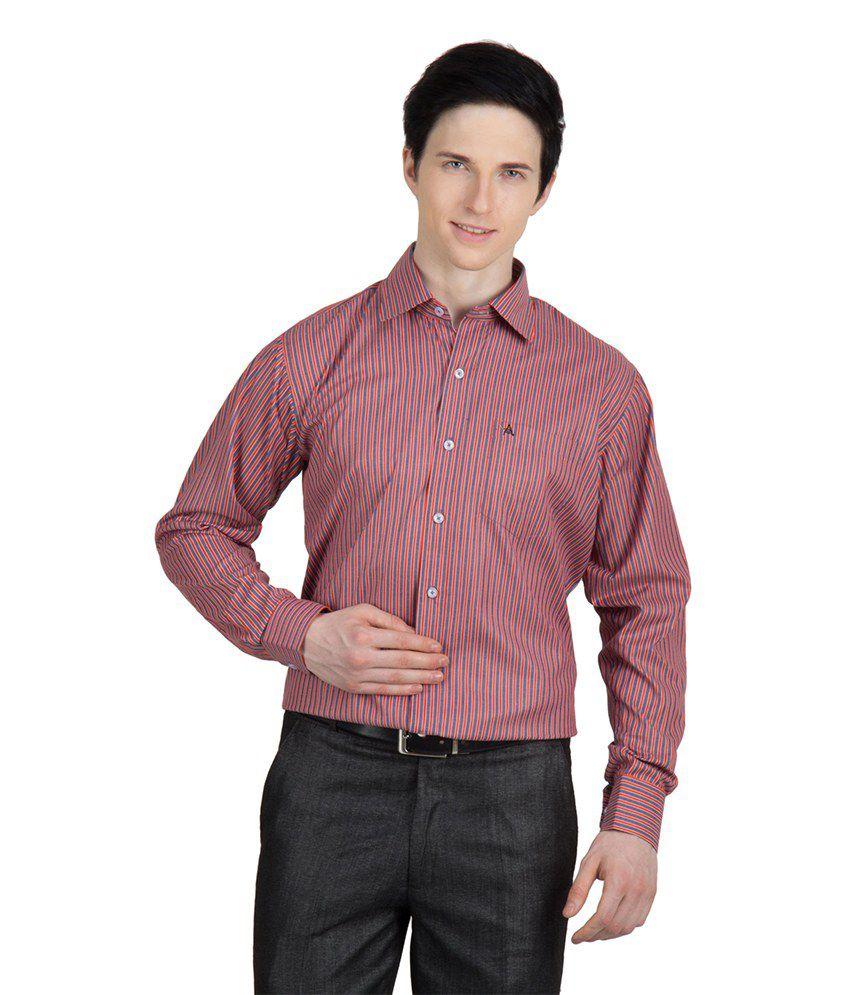 85568f046b1 Arihant Men s Formal Shirt-full Sleeves(red)