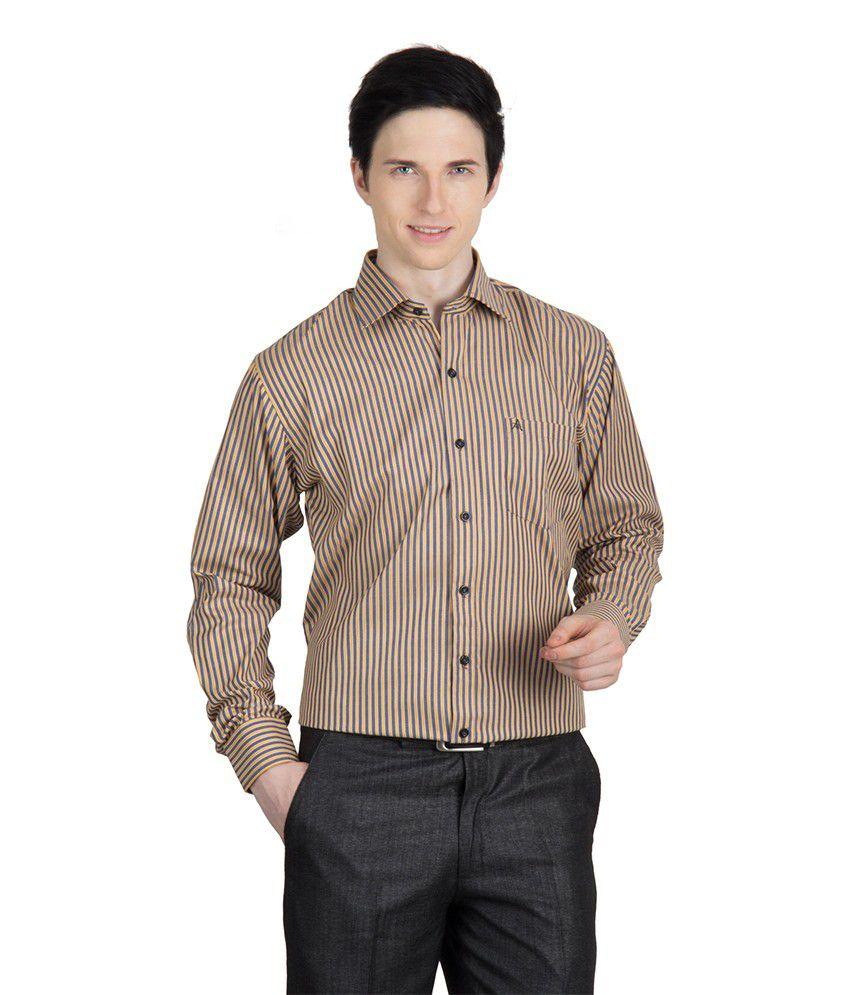 93794fcadf6 Arihant Men s Formal Shirt-full Sleeves(yellow)