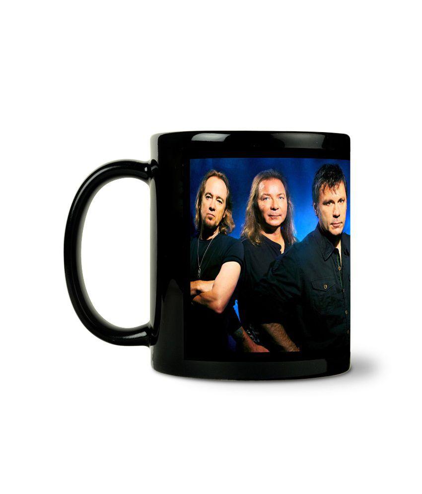 Bluegape Music Band Unlimited Black Mug