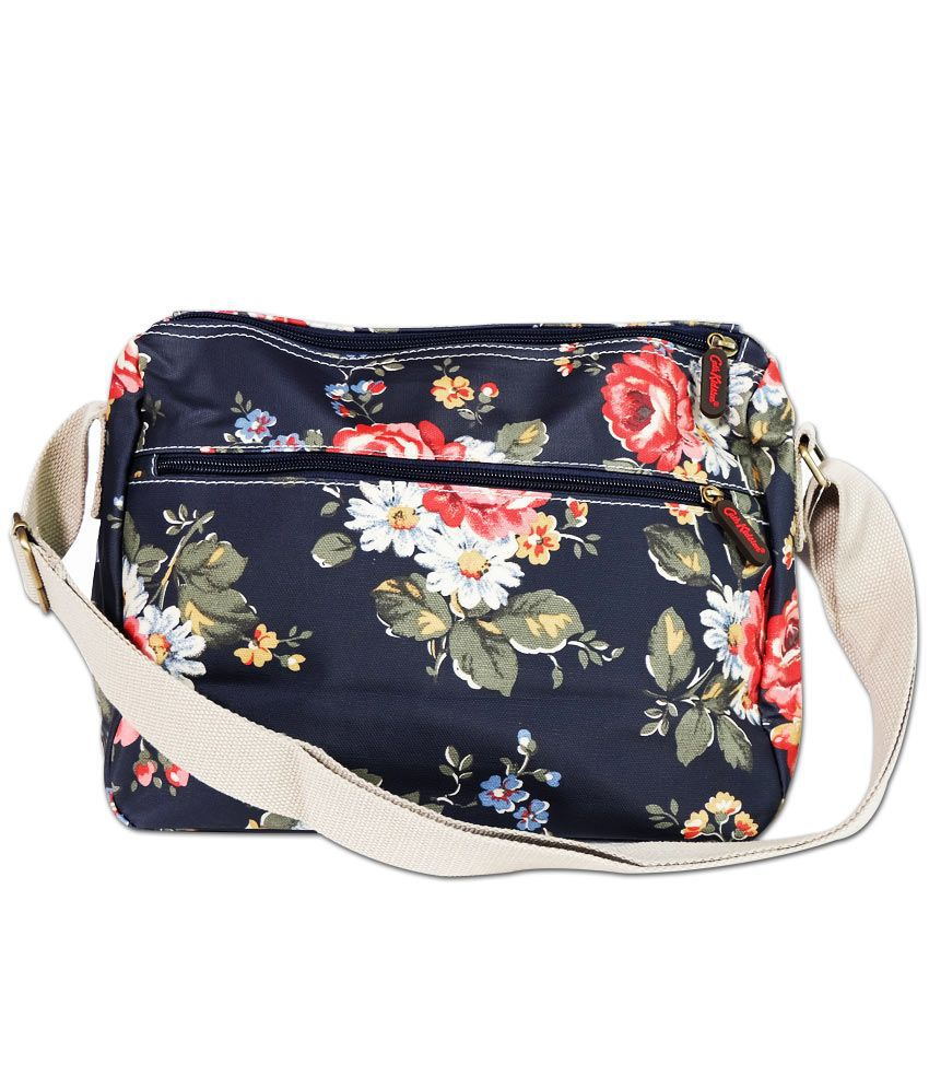 Cath Kidston Vinatge Flower Printed Blue Sling Bag - Buy Cath ...