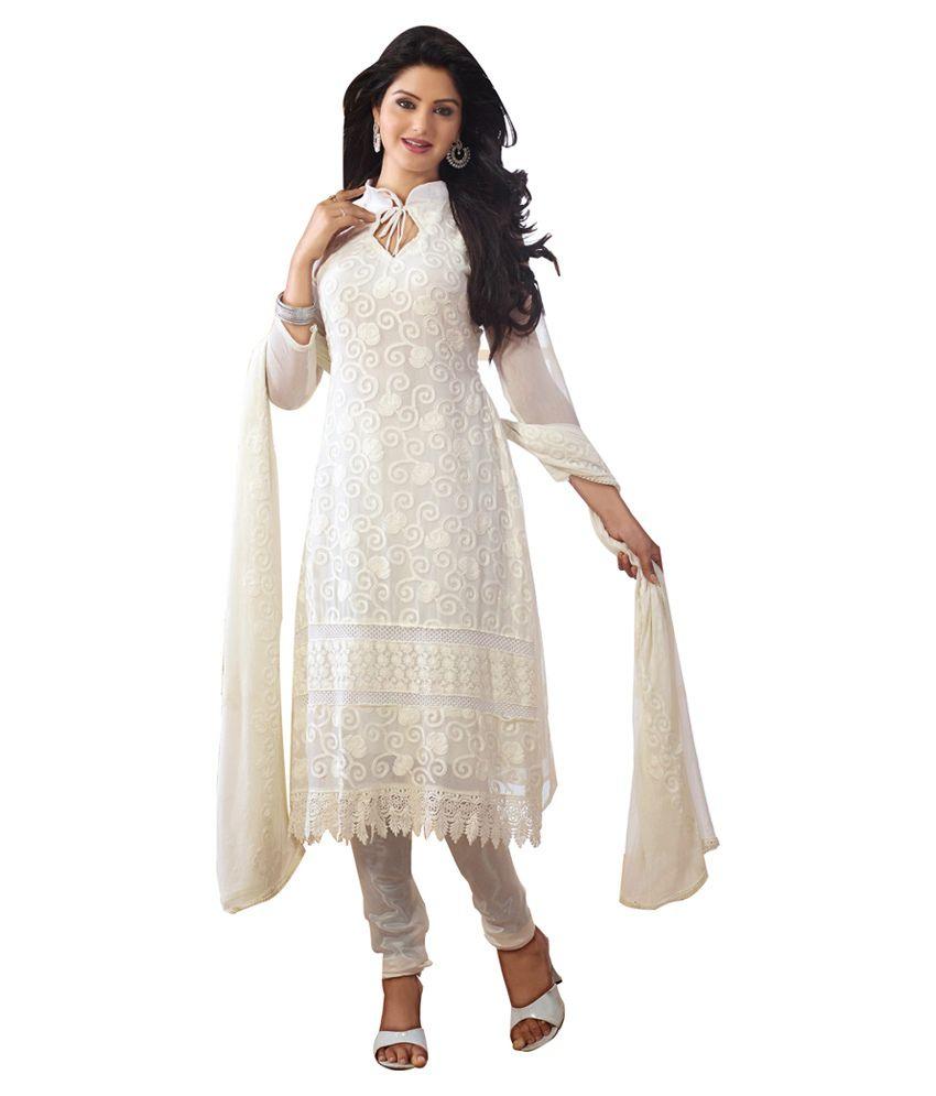 Slc beautiful karachi hot white churidar kameez suit buy for N gents salon karachi prices