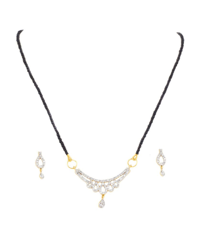 Sri Laxmi Jewellers Black Alloy Traditional Necklace Set - Buy Sri ...