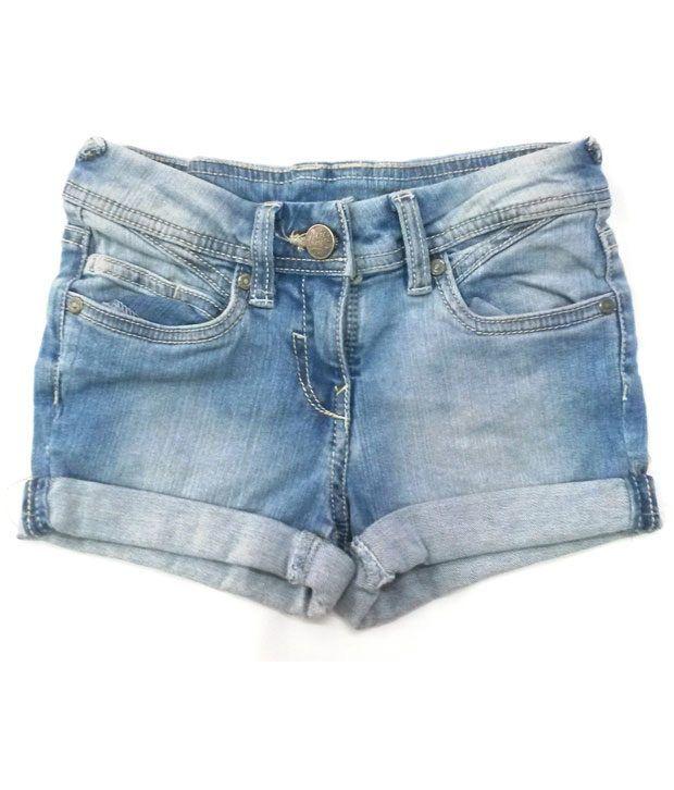 4s Blue Denim Shorts