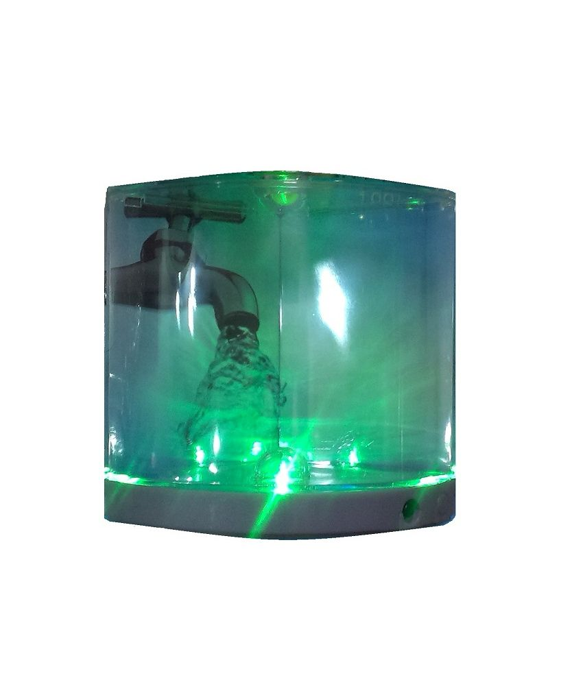 Fish for aquarium online - Dophin Fish Tank Mini Aquarium Change Colors