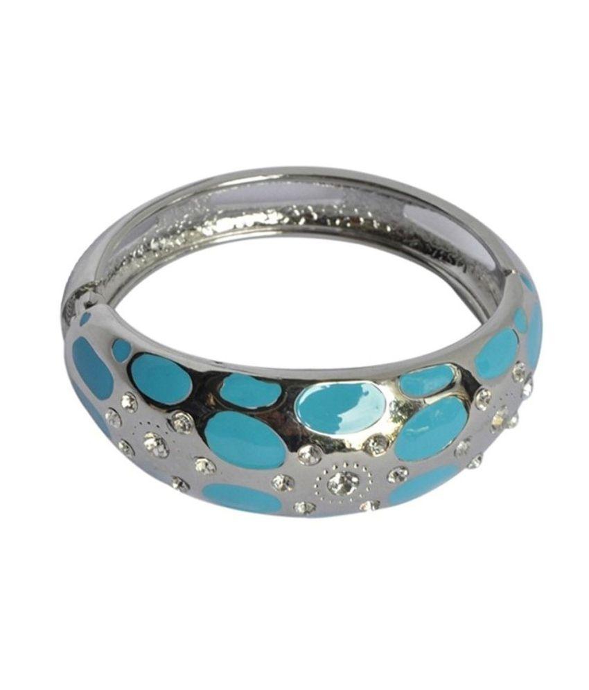 Habors Blue Spotted Bracelet