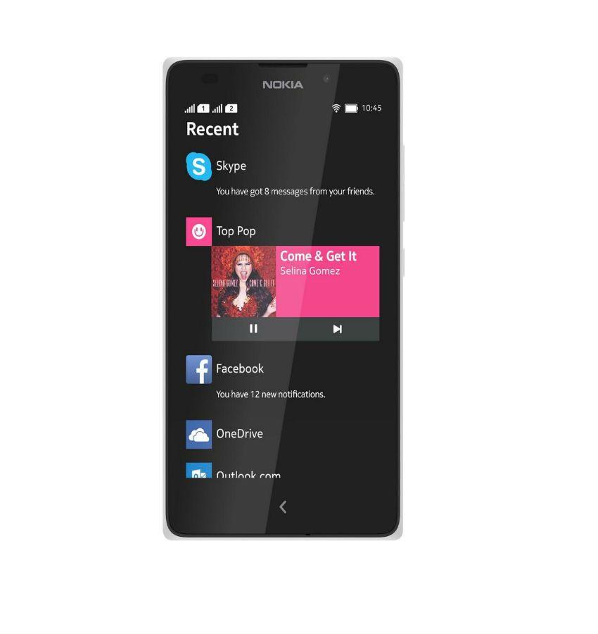 Nokia XL Dual SIM 4GB White