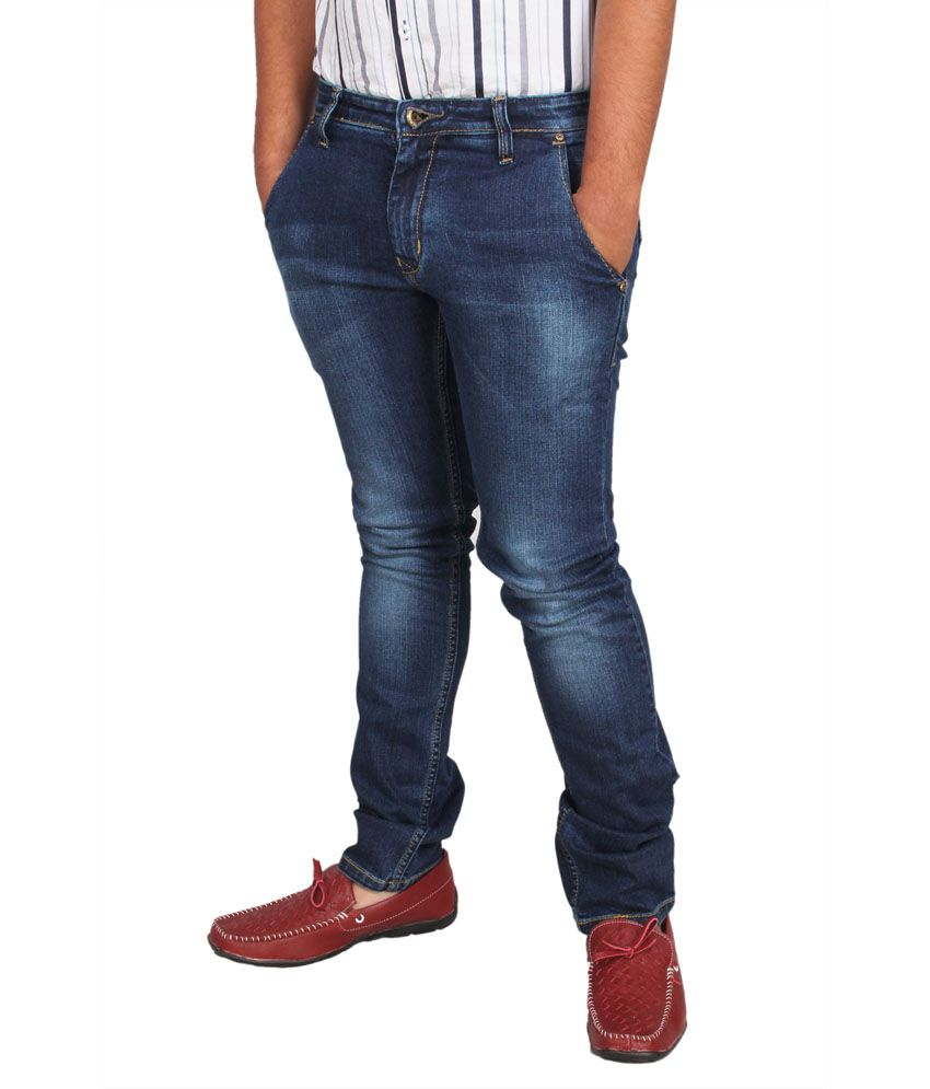 Revit Blue Slim Fit Jeans