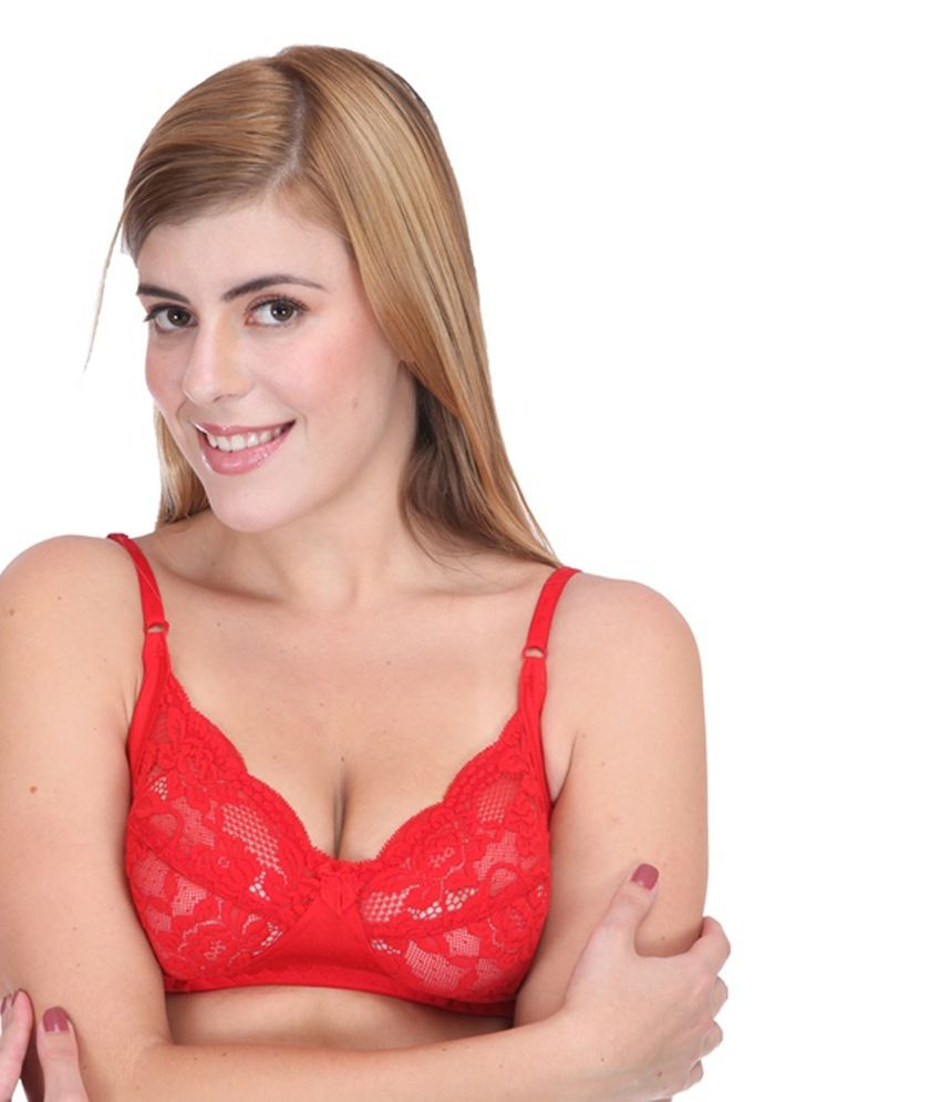 03d4dd248350 Buy Selfcare Red Non-padded Bra & Panty Sets Online at Best Prices ...