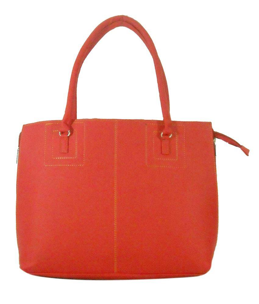 Estoss Red Leather Handbag