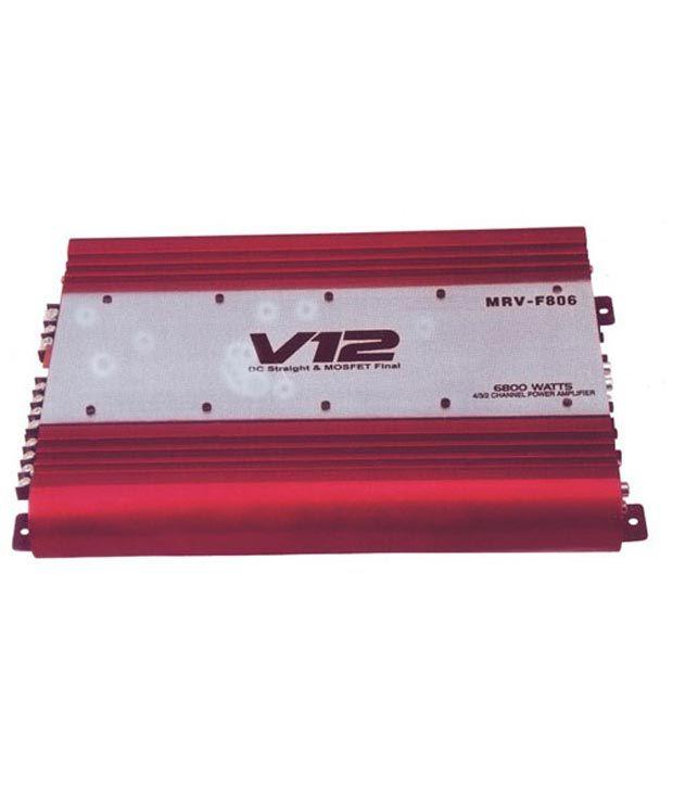 Jvl 4 Channel Car Amplifier