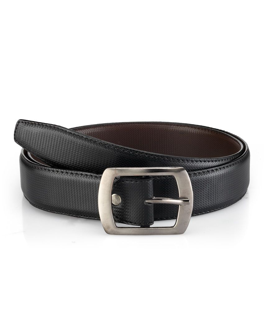 Tsx Faux Leather Belt