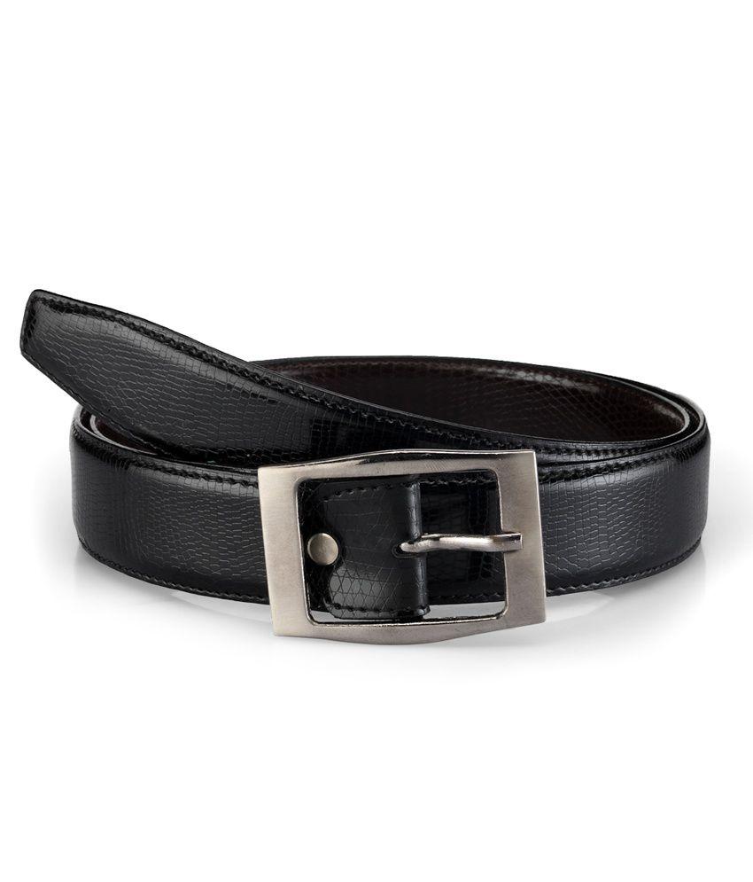 Tsx Faux Leather Belt