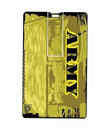Printland Army 8GB 8 GB Pen DrivesMulticolor