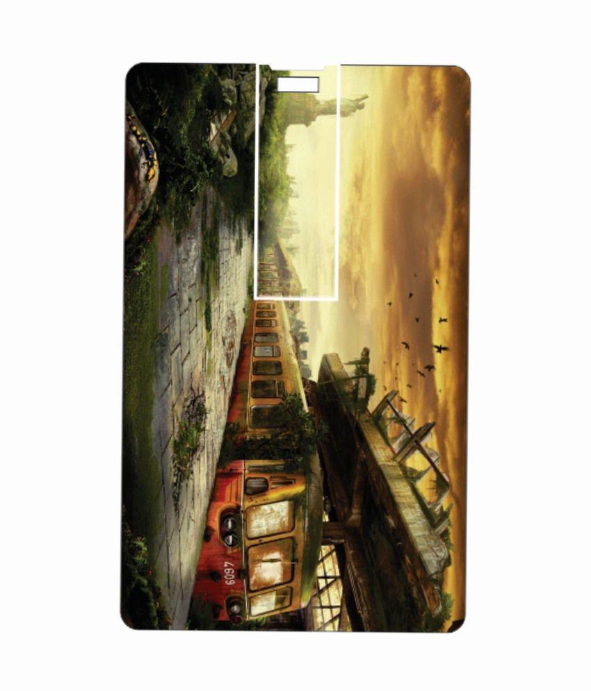 Printland dead city 8GB 8 GB Pen DrivesMulticolor