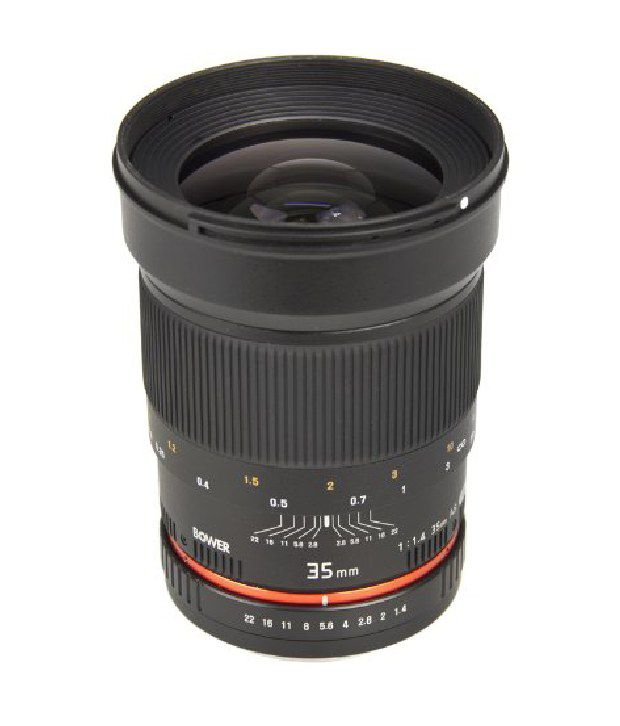 Bower Sly3514c Ultra Fast Wide-angle 35mm F/1.4 Lens For Canon