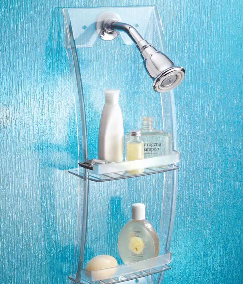 Buy InterDesign ARC White Acrylic Shower Caddy Online at Low Price ...