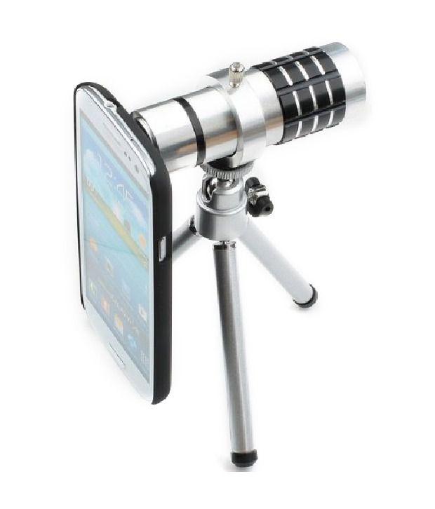 Neewer Aluminium 12x Optical Zoom Manual Focus Telephoto Lens For Samsung S3 I9300