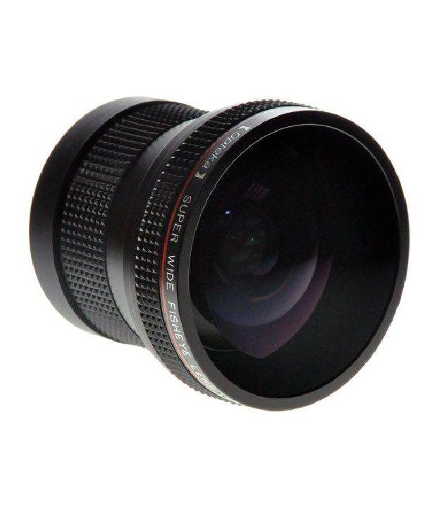 Opteka Hda2 0.20x Professional Super Af Fisheye Lens