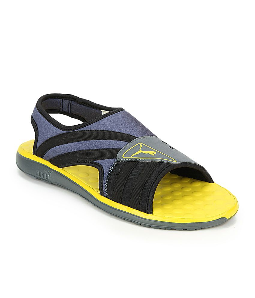 6cca7560ebd Puma Yellow Floater Sandals - Buy Puma Yellow Floater Sandals Online at  Best Prices in India on Snapdeal