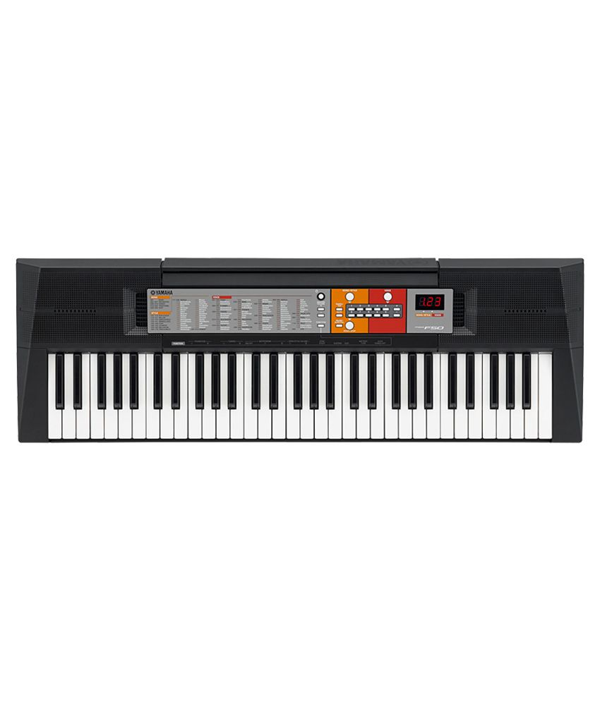 Yamaha new keyboard psr f50 free adaptor buy yamaha new for Yamaha professional keyboard price