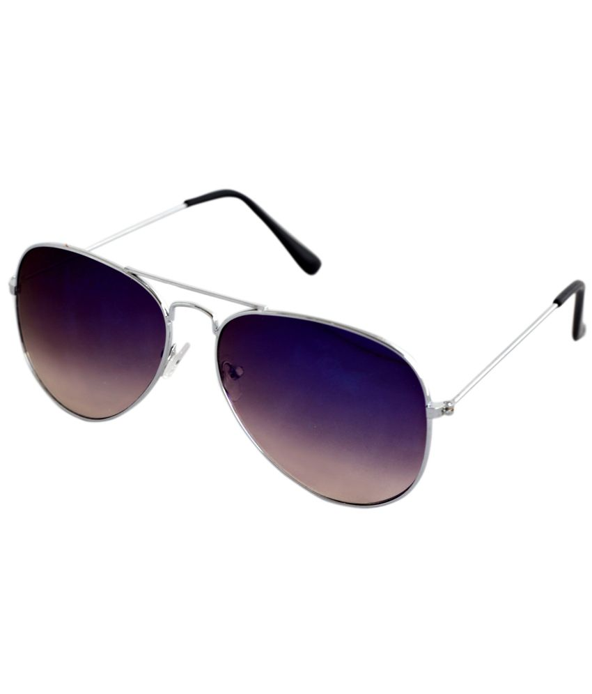 Attack Voilet Aviator Casual Sunglasses