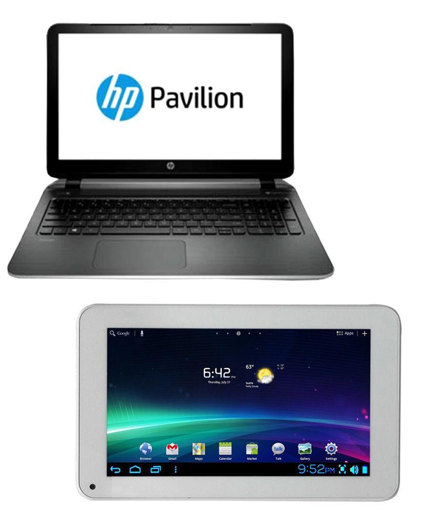 Buy HP Pavilion 15-P001TX Laptop & Get Ambrane A707 Tablet Free