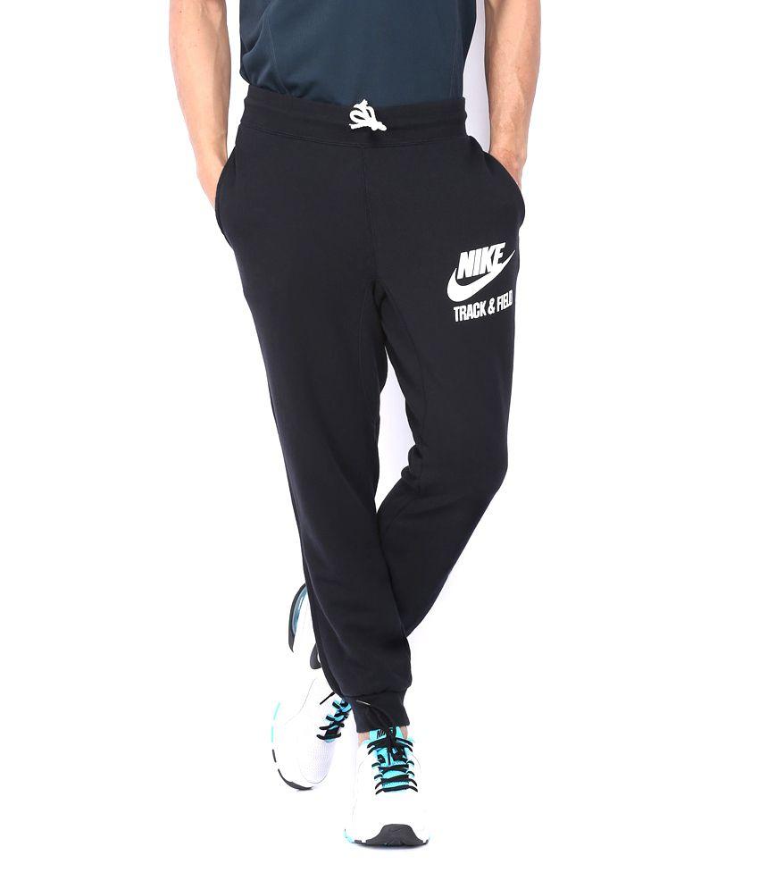 Nike Men Black Trackpant