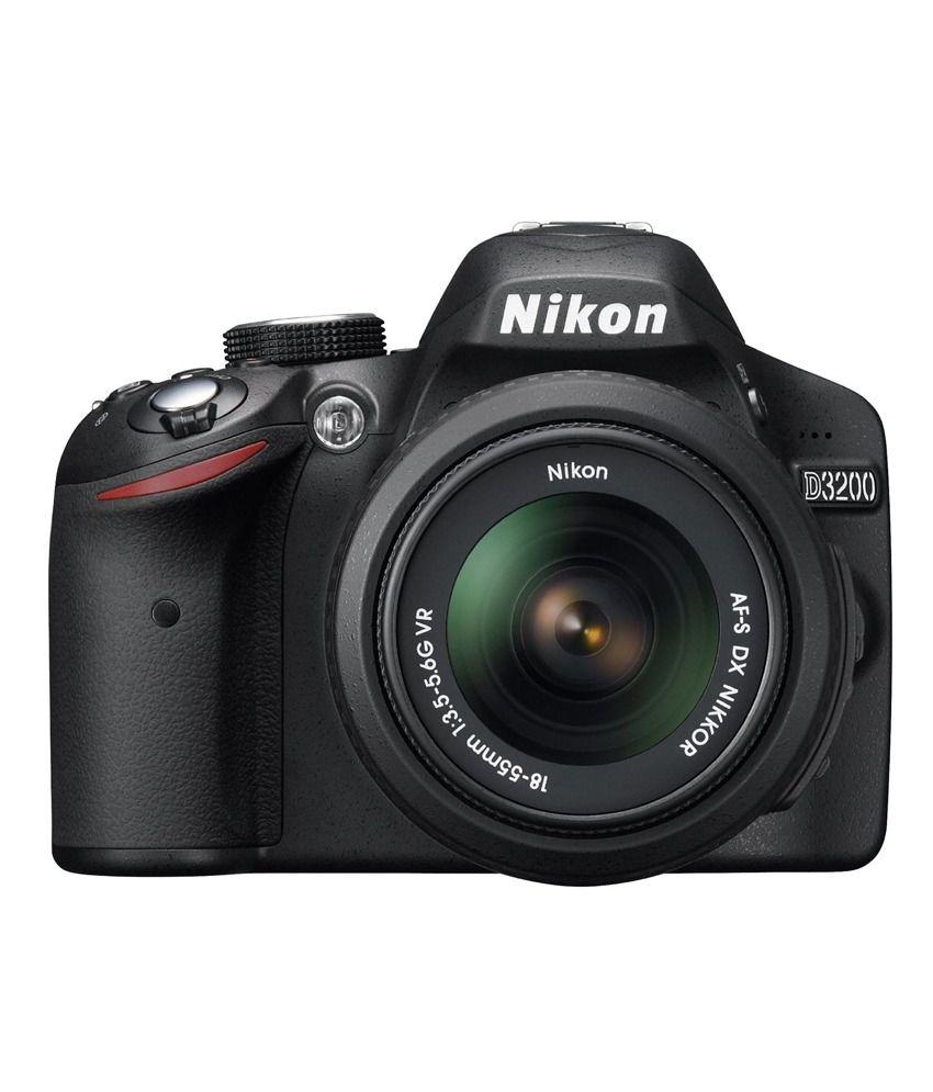 nikon d3200 dslr camera 18-55 vr ii lens kit 8-gb card and bag brand new sealed